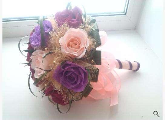 изготовление букетов ,корзинок из цветов ручной работы в Екатеринбурге фото 5