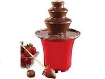 Шоколадный фонтан фондю Chocolate Fondue Fountain Mini