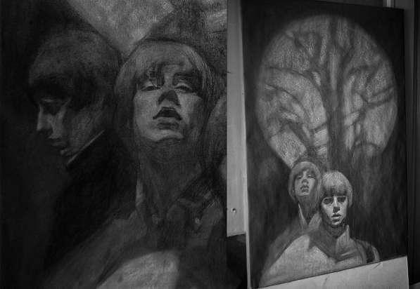 Акварельный портрет в Казани фото 3