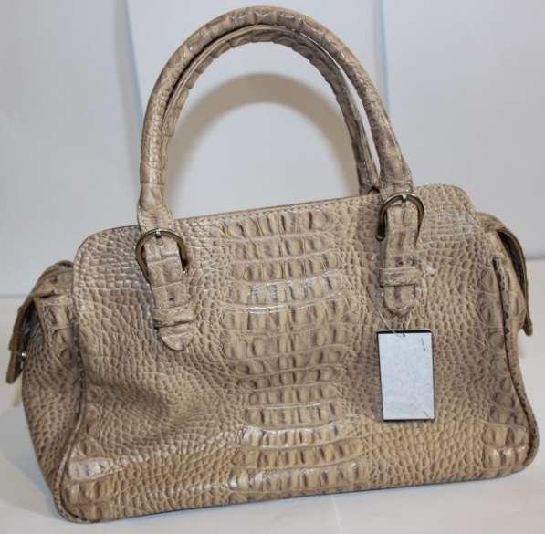 Новая сумка из кожи