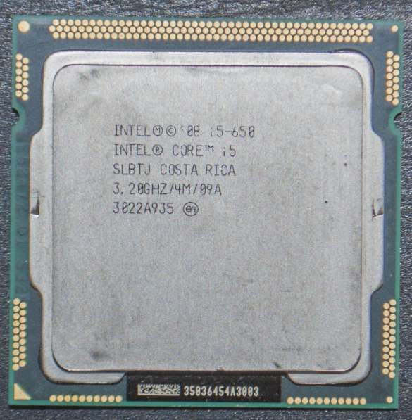 Intel Core i5-650 SLBTJ 3.2GHz Socket 1156