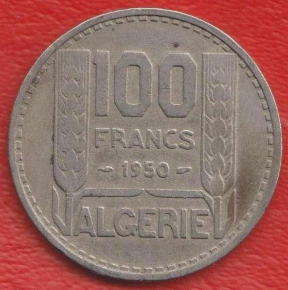 Алжир Французский 100 франков 1950 г