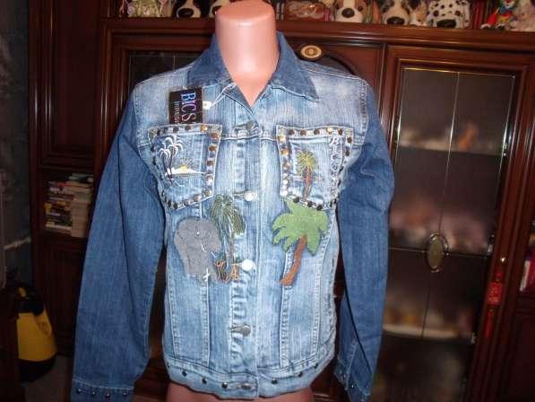 Джинсовый костюм Bicstar Jeans р.42-44 новый