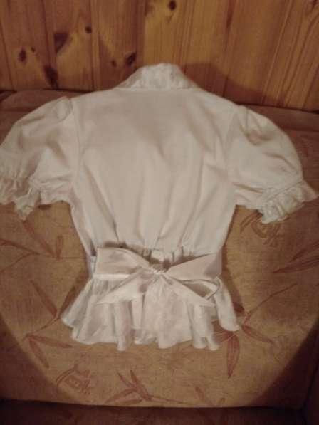 Школьная блузка, р.128-134 (1-2 класс) в Лыткарино