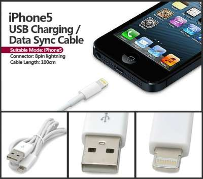 USB-кабель для Apple IPhone 5 IPad Мини