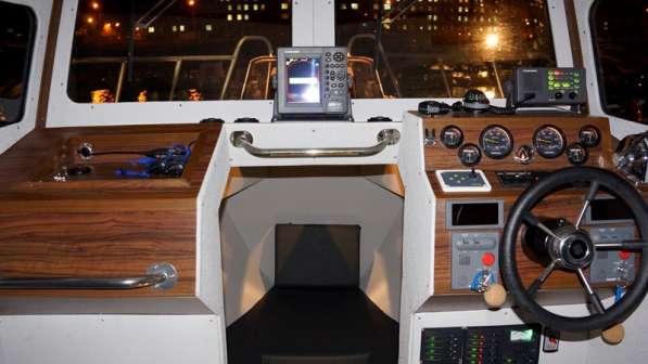 Новый морской катер Баренц 900 в Архангельске фото 12