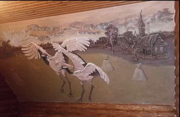 Ручная лепнина, барельеф, декор стен в Сергиевом Посаде фото 10
