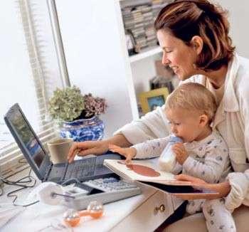 Работа на дому для молодых мамочек, студентов, домохозяек