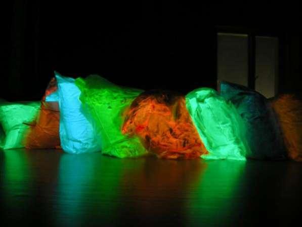 Светящийся порошок ТАТ 33 - люминофор