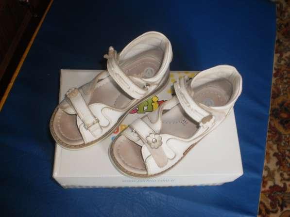 Ортопедические сандалии для девочки 28 размера