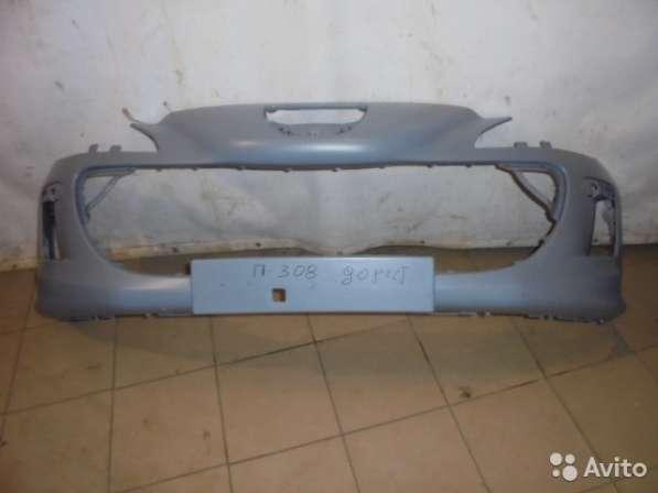 Бампер передний бу для Пежо 308 дорестайлинг
