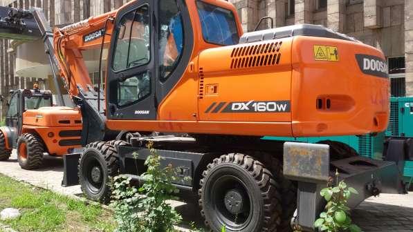 Экскаваторы Doosan S160WV на колесном ходу, новые в наличии!