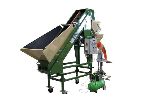 Фасовка картофеля оборудование, фасовка овощей в сетки