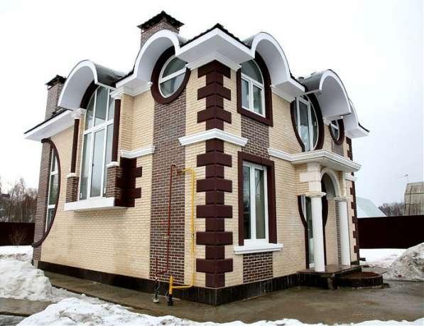 Фасадная лепнина - прекрасный лепной декор