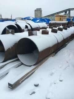 Отводы доводы тройники трубы новые