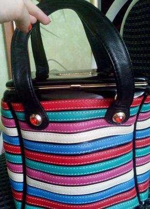 Дизайнерская сумочка-сундучок