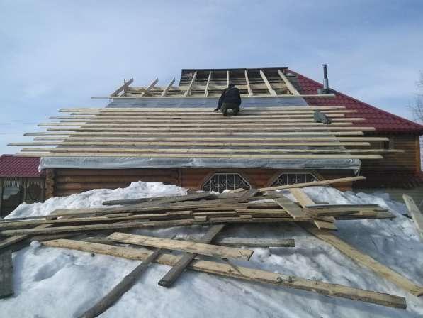 СТРОИТЕЛЬСТВО, РЕКОНСТРУКЦИЯ, РЕМОНТ частных домов, дач в Новосибирске фото 3