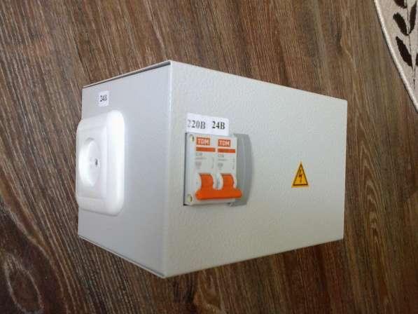 Понижающий трансформатор ЯТП-0,25 220/24-2