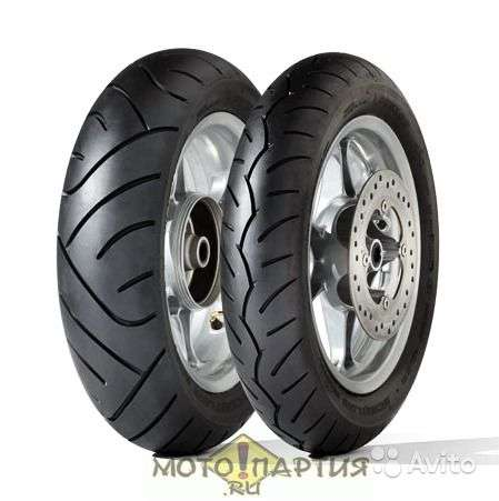 Новые Dunlop 120/70-14M 55S ScootSmart F