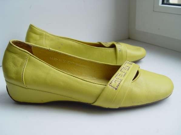 Туфли 36 размер кожа натуральная