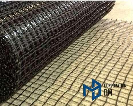 Сетка базальтовая нитепрошивная строительная