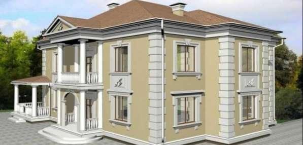 Фасадный декор для домов и дач