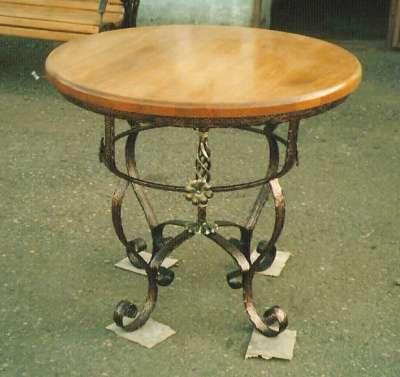 стол кухонный кованый