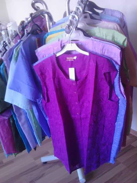 Продаем Женские блузки XL, XXL, XXXL разного цвета х/б в фото 4