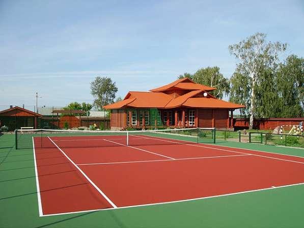 Теннисный корт по доступной цене и в минимальные сроки в Екатеринбурге фото 7