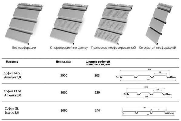Софиты виниловые 3,0 Grand Line® AMERIKA Т3, Т4, Estetic