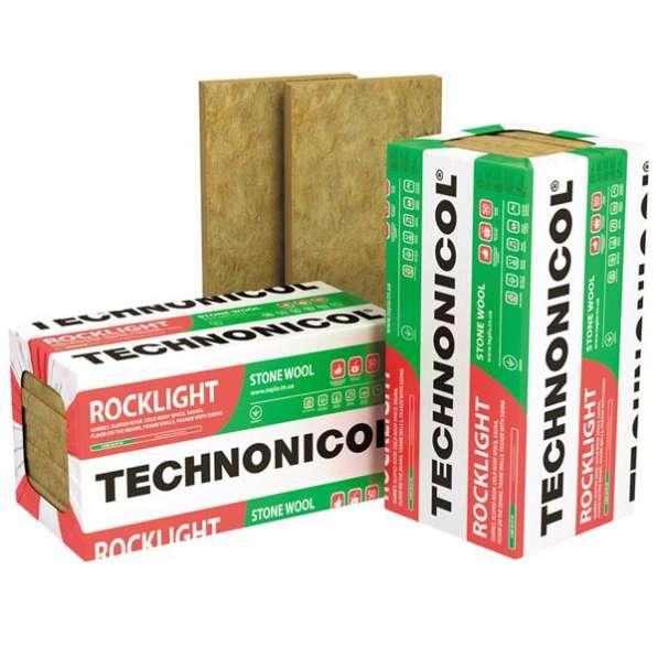 Каменная вата Технониколь Роклайт 1200*600*50мм
