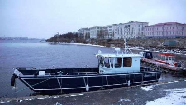 Алюминиевый грузопассажирский катер Баренц 1200 в Красноярске фото 7