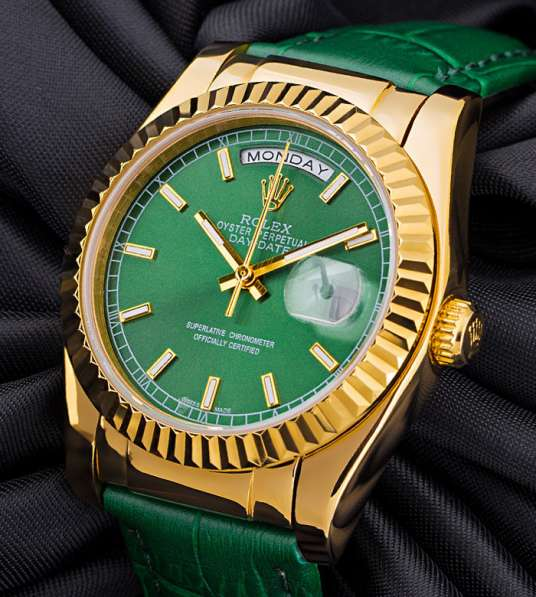 "Часы ""Oyster Perpetual Day-Date 118138 Green"""