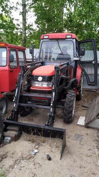 Новый трактор с кабиной AOYE-654 с КУН 4x4 65 л. с. КНР