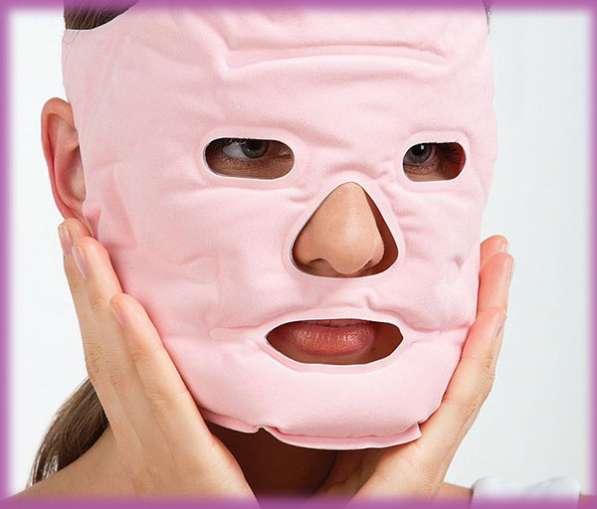 Турмалиновая акупунктурная массажная маска для лица