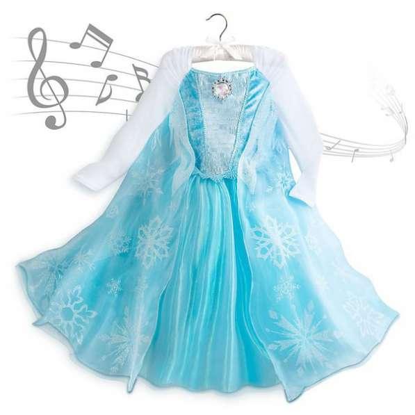 Музыкальное платье Эльза Холодное сердце Дисней оригинал