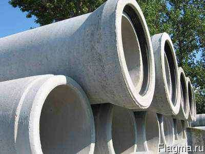 Трубы железобетонные безнапорные с раструбом Выборг