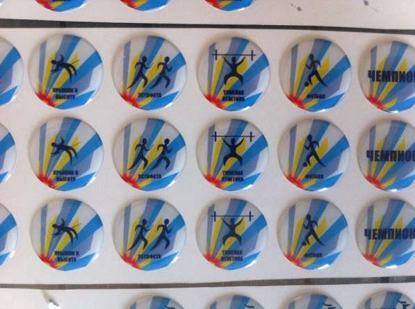 Полимерные стикеры