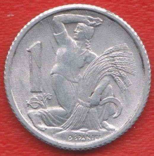 Чехословакия 1 крона 1952 г.