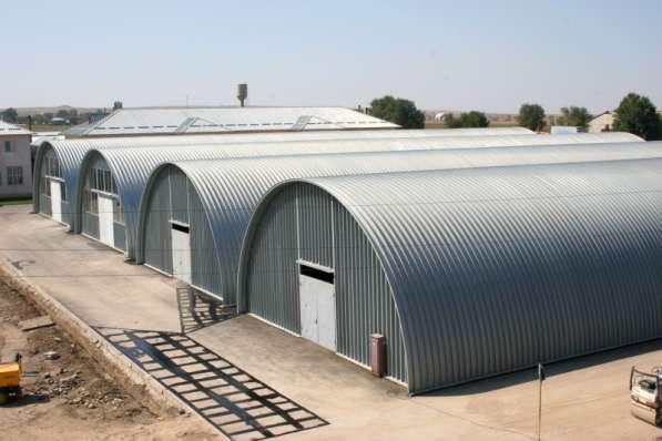 Строительство мобильных бескаркасных ангаров в г. Шимкент