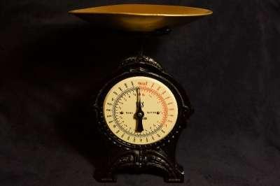 Весы кухонные антикварные фирмы «EKS». «EKS»