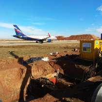 Строительство сетей в действующих аэропортах и космодромах, в Красноярске