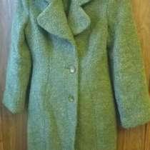 Кашемировое пальто Gratti, цвет Kale -тренд года, в г.Санкт-Петербург