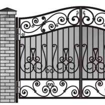 Кованые ворота по индивидуальным проектам. Доставка по РФ, в Альметьевске
