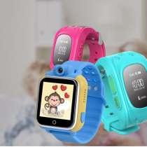Детские часы с GPS трекером, в Москве