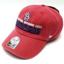Бейсболка кепка Saint Louis Champions (красный), в г.Москва