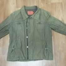 Продаю ЛЁНовую куртку, цвета хаки. В отличном состоянии, в Сочи