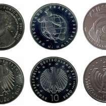 Монеты 10 евро юбилейные, Германия, в г.Санкт-Петербург