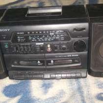 Vintage. SONY CFS-W350L - радио кассетный магнитофон, в г.Москва