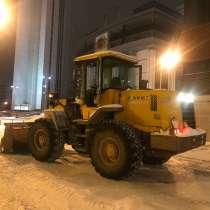 Аренда трактора погрузчика. Уборка чистка и вывоз снега, в Екатеринбурге